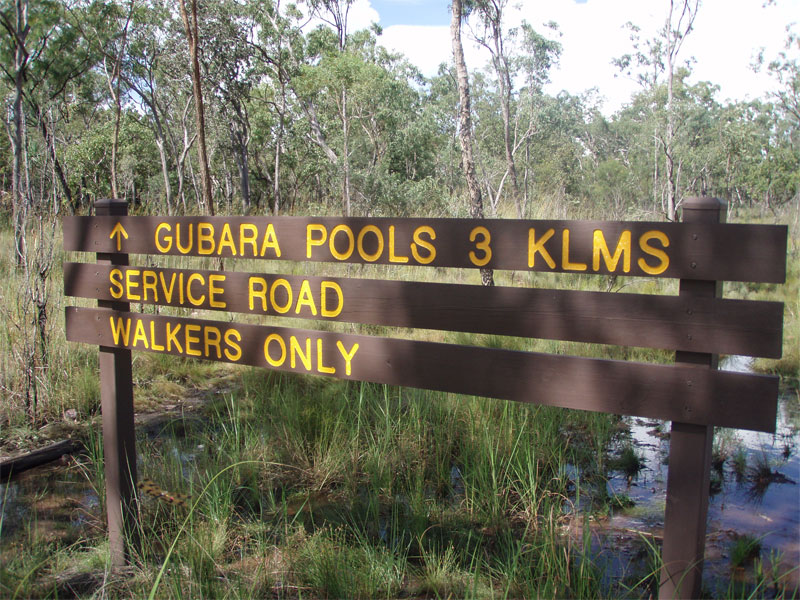 Gubara pools walk Kakadu 4wd service road Credits Diane in Singapore