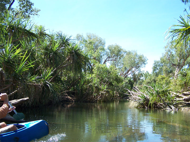 Wickham River Northern Territory Australia on a tailor made personalised canoeing and fishing tour - Credits MGerom